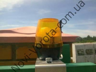 Сигнальная лампа для автоматических ворот своими руками 728