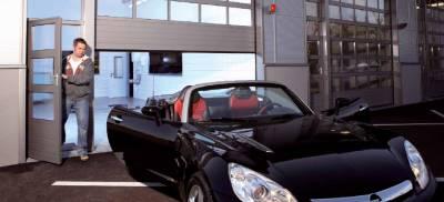 Ворота гаражные электропривод