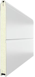 Гаражные секционные ворота rsd02 (с торсионными пружинами), 4000х3000